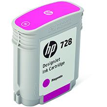 HP 728 Magenta Ink Cartridge (40ml)