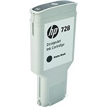 HP 728 Matte Black Ink Cartridge (300ml)