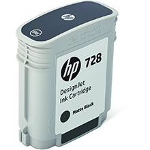 HP 728 Matte Black Ink Cartridge (69ml)