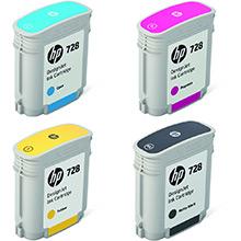HP 728 Ink Multipack K (69ml) CMY (40ml)