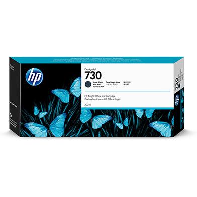 HP 730 Matte Black DesignJet Ink Cartridge (300ml)