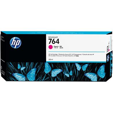 HP 764 Magenta DesignJet Ink Cartridge (300ml)