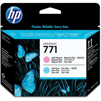 HP No.771 Light Magenta and Light Cyan Printhead
