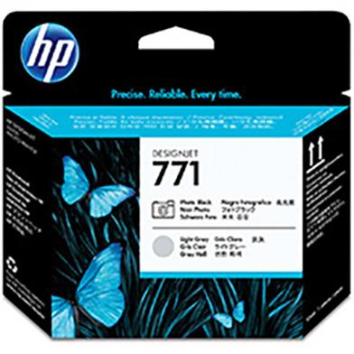 HP No.771 Photo Black and Light Grey Printhead