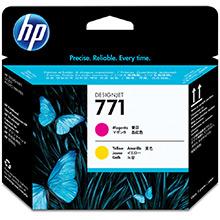 HP No.771 Magenta and Yellow Printhead