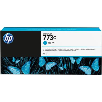 HP 773C Cyan Ink Cartridge (775ml)