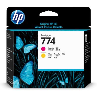 HP 774 Magenta/Yellow DesignJet Printhead