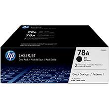 HP 78A Dual Pack Black toner cartridge (2 x 2.1k)