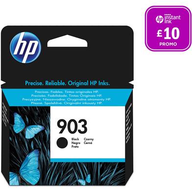 HP 903 Black Original Ink Cartridge (300 Pages)