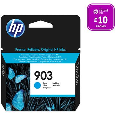 HP 903 Cyan Original Ink Cartridge (315 Pages)