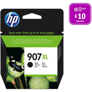 HP 907XL Black Original Ink Cartridge (1,500 Pages)