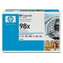 HP 98X Black Toner Cartridge (8,800 Pages)
