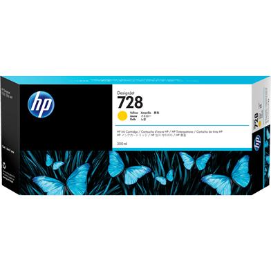 HP 728 Yellow Ink Cartridge (300ml)