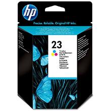 HP No.23 Tri-Colour InkJet Cartridge (30ml)