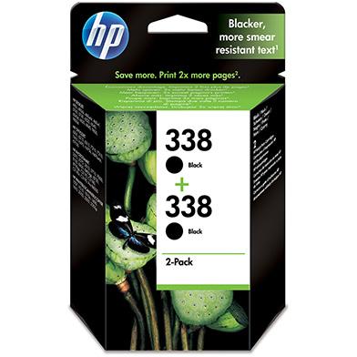 HP No.338 Black Inkjet Print Cartridge (Twin Pack)