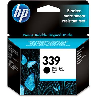 HP C8767EE No.339 Black Ink Cartridge (800 pages)