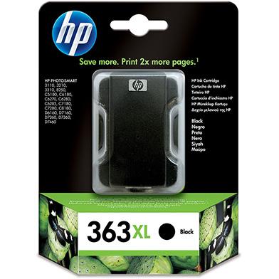 HP C8719EE No.363XL Black Ink Cartridge (1,120 Pages)