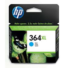 HP No.364XL Cyan Ink Cartridge (750 Pages)