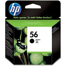 HP No.56 Ink Cartridge Black InkJet Print Cartridge (520 pages)