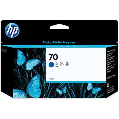HP C9458A No.70 Blue Ink Cartridge (130ml)