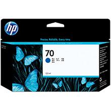 HP No.70 Blue Ink Cartridge (130ml)