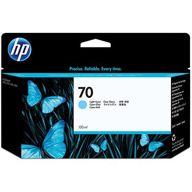 HP No.70 Light Cyan Ink Cartridge (130ml)