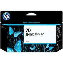 HP No.70 Matte Black Ink Cartridge (130ml)