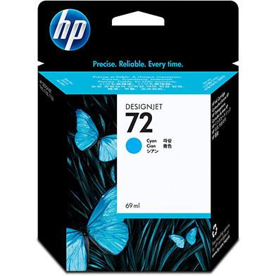 HP C9398A No.72 Cyan Ink Cartridge (69ml)