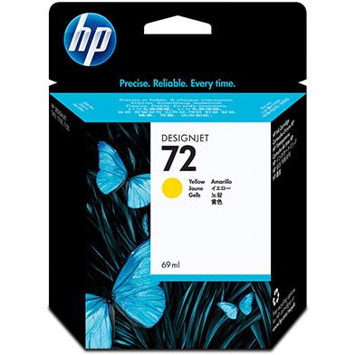 HP C9400A No.72 Yellow Ink Cartridge (69ml)