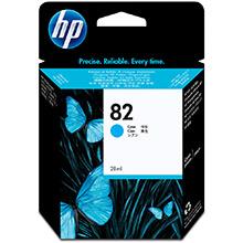 HP No.82 Cyan Ink (28ml)