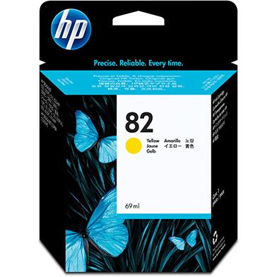 HP C4913A No.82 Yellow Ink Cartridge (69ml)