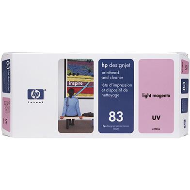 HP C4965A No.83 Light Magenta UV Printhead and Printhead Cleaner