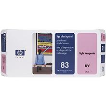 HP No.83 Light Magenta UV Printhead and Printhead Cleaner