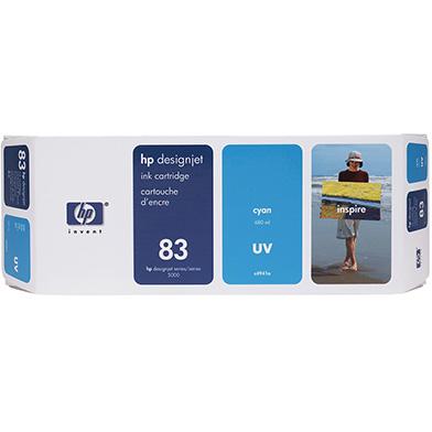 HP No.83 Cyan UV Ink Cartridge (680ml)