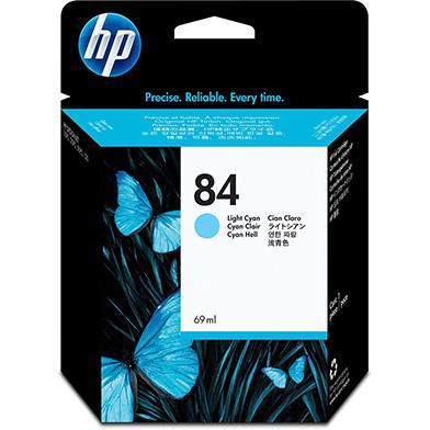 HP C5017A No.84 Light Cyan Ink Cartridge (69ml)