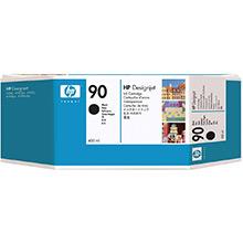 HP No.90 Black Ink Cartridge (400ml)