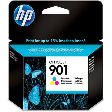 HP CC656AE No.901 Tri-Colour Ink Cartridge (360 Pages)