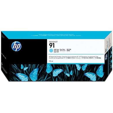 HP C9470A No.91 Light Cyan Ink Cartridge (775ml)