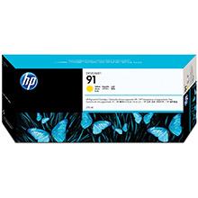 HP No.91 Yellow Ink Cartridge (775ml)