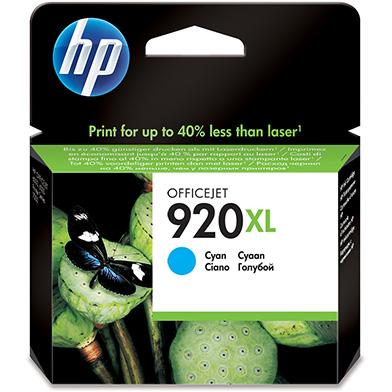 HP No.920XL Cyan Ink Cartridge (700 Pages)