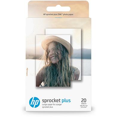HP Sprocket Plus Photo Paper - 290gsm (20 Sheets / 5.8 x 8.7 cm)