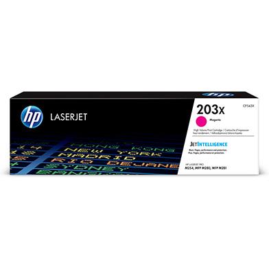 HP CF543X 203X High Capacity Magenta Toner Cartridge (2,500 Pages)