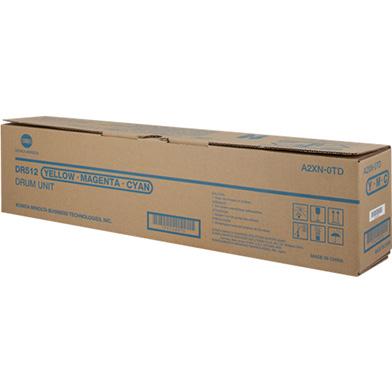 Konica Minolta A2XN0TD DR-512CMY Drum Unit (75,000 Pages)