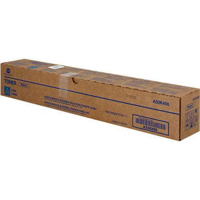 Konica Minolta A33K450 TN321C Cyan Toner Cartridge (25,000 Pages)