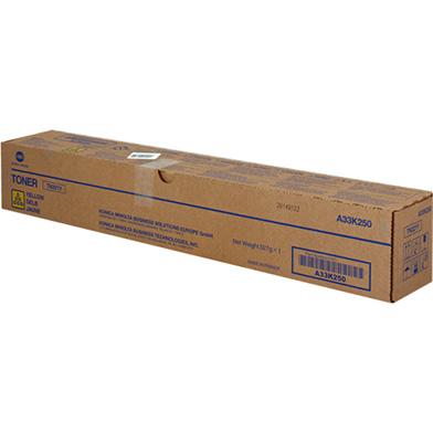 Konica Minolta A33K250 TN321Y Yellow Toner Cartridge (25,000 Pages)