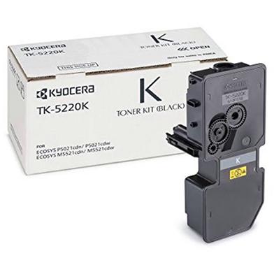Kyocera 1T02R90NL1 TK-5220K Black Toner Cartridge (1,200 Pages)