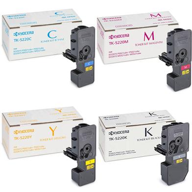 Kyocera TK-5220 Toner Cartridge Multipack CMYK (1,200 Pages)