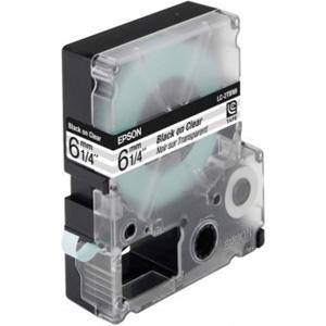 Epson Black/Transparent 6mm (9m) tape