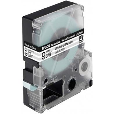Black/Clear 9mm (9m) tape