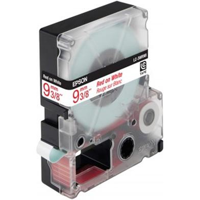 Black/Red 9mm (9m) tape